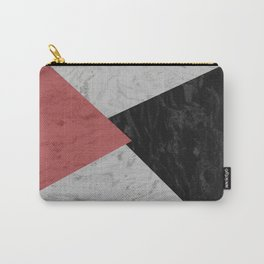 MARBLE TRIANGULES Carry-All Pouch