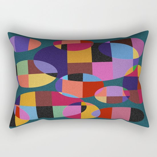Abstract #92 Rectangular Pillow