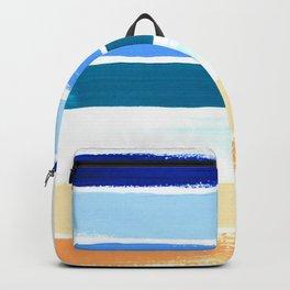 Beach Stripes Backpack