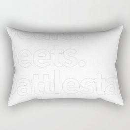 Bears. Beets. Battlestar Galactica Rectangular Pillow