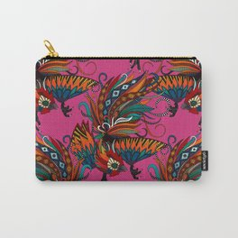 rooster ink pink Carry-All Pouch