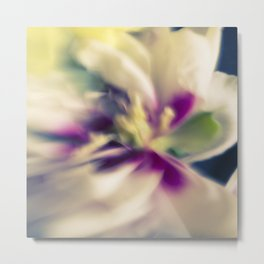 Blured flowers Metal Print