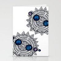 interstellar Stationery Cards featuring Interstellar by HaleySayersArt