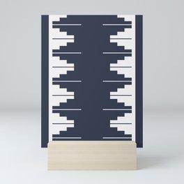 Nordic style pattern Mini Art Print