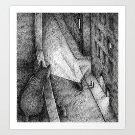 The Witness Art Print
