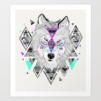 kris tate Art Prints featuring HONIAHAKA by Kyle Naylor and Kris Tate by Kyle Naylor