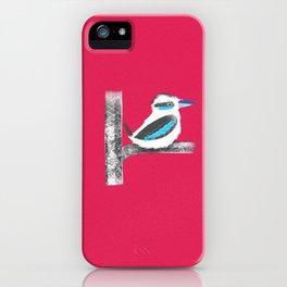 Kookaburra 15 iPhone Case