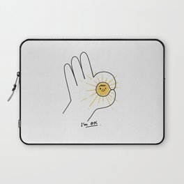 I'm OK Laptop Sleeve