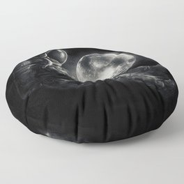 Moon Play Floor Pillow