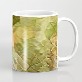 Cinnamon Mosaic Abstract Art Coffee Mug