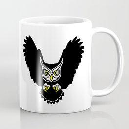 Flying Owl Coffee Mug