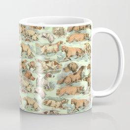 BIRDDOGS IN THE FIELD - MINT Coffee Mug