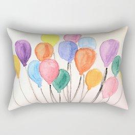 Balloon Doodle Rectangular Pillow