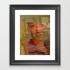 I Love My Lawnmower... Framed Art Print