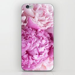 Pink Peonies Shabby Chic Cottage Peonies iPhone Skin