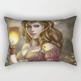 Floating Lights Rectangular Pillow