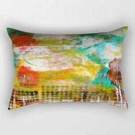 Lines and Texture Rectangular Pillow