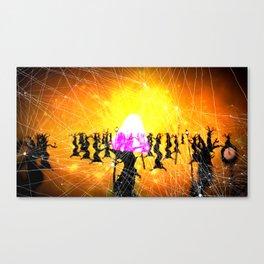 God Gamble Trip Canvas Print