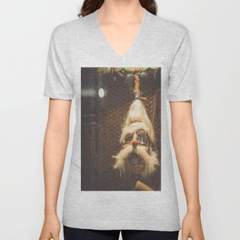 Shrunken Head Unisex V-Neck