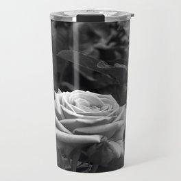 Pink Roses in Anzures 5 B&W Travel Mug