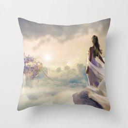 Fantasy | Fantaisie Throw Pillow
