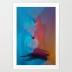 Rainbow Pleasures Art Print