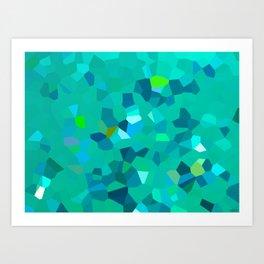 Brazillian Waters Art Print