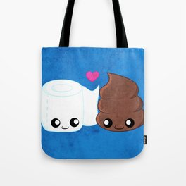 The Best of Friends - Toilet Paper and Poop Tote Bag