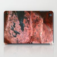 geology iPad Cases featuring Copper Sheet by Crayle Vanest