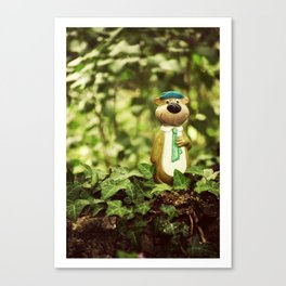 Yogi Bear Canvas Print