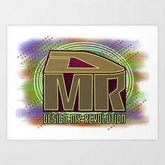 Design My Revolution Art Print