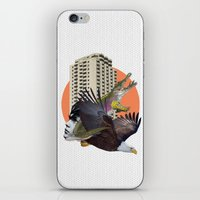 cage iPhone & iPod Skins featuring Cage home by Lerson