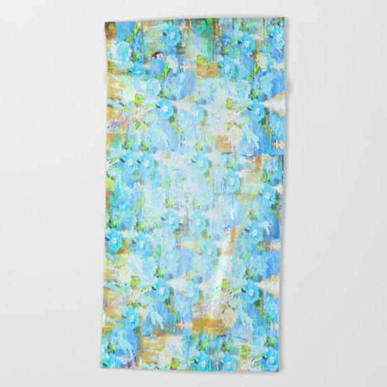 BLUE CITY Beach Towel