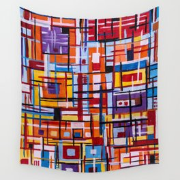 Concealed Mindfulness Wall Tapestry