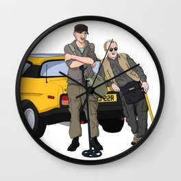 Detectorists - Lance & Andy - DMDC Wall Clock