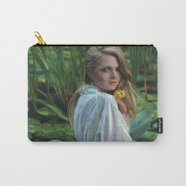 """""""Lady in the Lily Pads"""" Carry-All Pouch"""