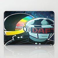 daft punk iPad Cases featuring Daft Punk by Alexis Pilato
