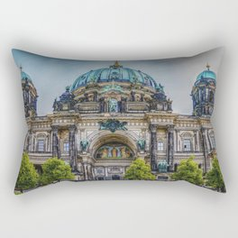 Berlin Cathedral Germany Landscape Rectangular Pillow