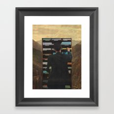 Send And Receive Framed Art Print