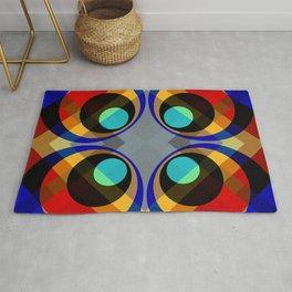 Kanyuheme - Colorful Abstract Art Rug