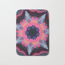 pink circle Bath Mat