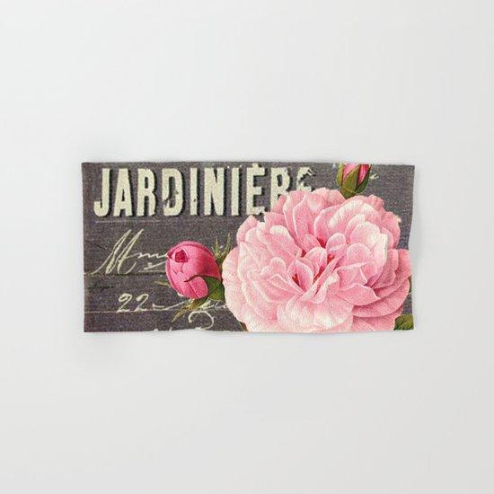 Vintage roses #1 Hand & Bath Towel