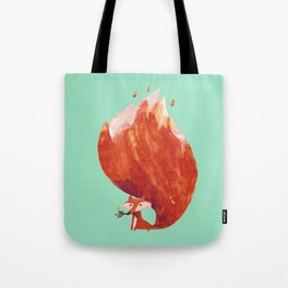Kitsune (Fox of fire) Tote Bag