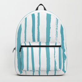 blue streaky pattern Backpack