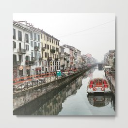 Milano Navigli - Italy Metal Print
