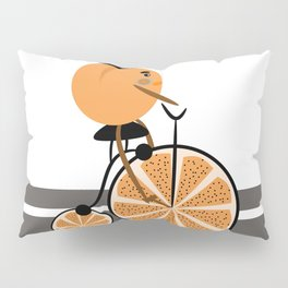 Orange ride Pillow Sham