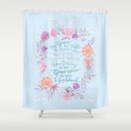 Amazing Grace - Hymn Shower Curtain