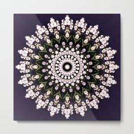 Hydrangea Lace Metal Print