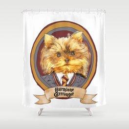 Hairy Pawter's: Hairmione Grrranger Shower Curtain