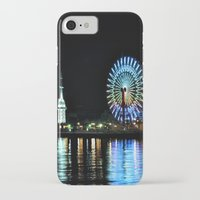 kobe iPhone & iPod Cases featuring Kobe Neon Haze by Dora